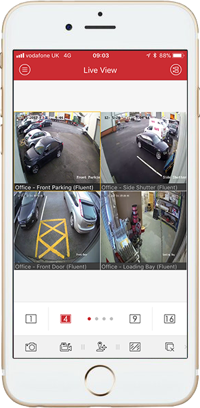 CCTV viewable on your phone from anywhere